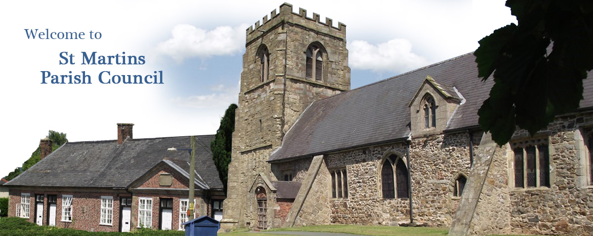 Header Image for St Martins Parish Council